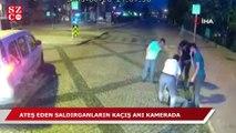 Saldırganların silahla vurduğu vatandaşın yardımına otobüs şoförü koştu