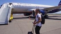 La selección viaja a Sochi para jugar su primer partido del Mundial
