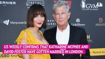 Katharine McPhee and David Foster Marry in Intimate London Ceremony