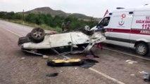Ankara-Nallıhan Karayolu'nda trafik kazası: 1,5 aylık bebek hayatını kaybetti, 5 kişi yaralandı