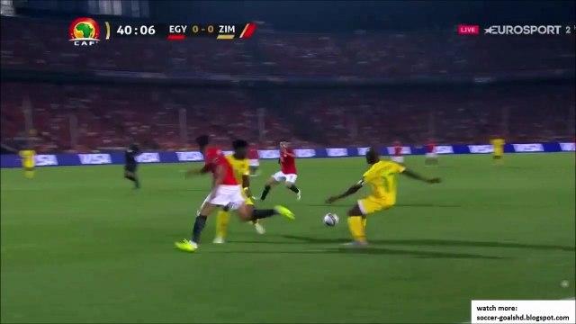 Egypt 1-0 Zimbabwe - Trezeguet goal