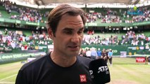 "ATP - Halle 2019 - Roger Federer : ""Play Pierre-Hugues Herbert, it will be a first and in semi-final to Halle"""