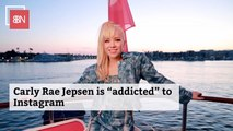 Carly Rae Jepsen Is Honest About Her Social Media Use
