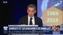 """Dans un colloque consacré à Georges Pompidou, Nicolas Sarkozy évoque une """"bagarre de familles"""" chez Les Républicains"""