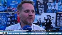 Foot : le stade Vélodrome et le Mucem inspirent les prochains maillots de l'OM