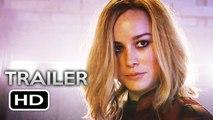 CAPTAIN MARVEL Super Bowl Trailer (2019) Brie Larson Marvel Superhero Movie HD