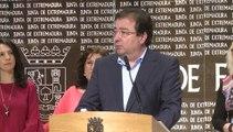 Vara anuncia más de 500 millones de euros para un plan de empleo