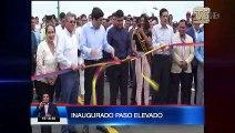 Mandatario inauguró obras en provincia de El Oro