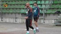 España apura sus últimos entrenamientos antes de viajar a Rusia