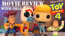 TOY STORY 4 MOVIE REVIEW & FUNKO POP FORKY,BO PEEP WITH OFFICER MCDIMPLES,DUCKY,WOODY , BUZZ LIGHTYEAR + MCDONALDS HAPPY MEAL TOYS,TARGET STORE DISPLAY AND MORE
