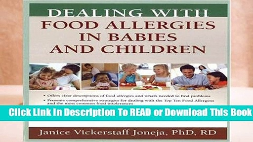 About For Books  Dealing with Food Allergies in Babies and Children  For Kindle