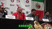 How Many Times Has Andy Ruiz Watch His Win Over Joshua