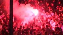 Euforia madridista en Cibeles tras la victoria en la Champions