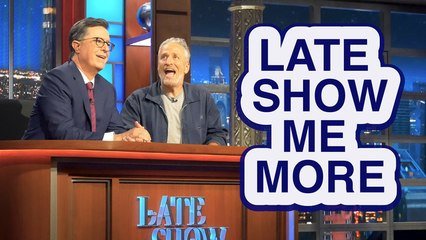 LATE SHOW ME MORE: Look Who Popped Up!