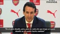 """Unai Emery: """"Entrenar al Arsenal es un gran desafío"""""""