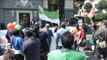 Concentración contra los fondos buitre en Madrid