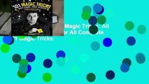 About For Books  101 Magic Tricks  All for Magic and Magic for All Complete    101 Magic Tricks