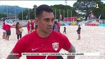 Beach soccer : Tahiti s'impose 10 à 0 face à la Nouvelle Calédonie