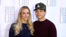"""Hayden Szeto and Kari Perdue 2019 Rom Com Fest """"Summer Night"""" Screening Pink Carpet"""