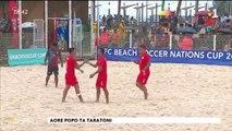 TH : Beach soccer : Tahiti s'impose 10 à 0 face à la Nouvelle Calédonie