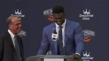 New Orleans Pelicans Introduce -1 Overall Pick Zion Williamson