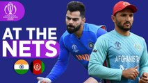 IND v AFG - At The Nets - ICC Cricket World Cup 2019