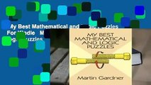 My Best Mathematical and Logic Puzzles  For Kindle   My Best Mathematical and Logic Puzzles