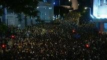 Hong Kong : la réponse de la police après les blocages des manifestants