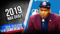 Rui Hachimura Post Draft Interview - 2019 NBA Draft