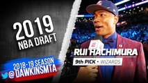 Rui Hachimura Selected 9th Overall By Washington Wizards - 2019 NBA Draft