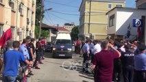 RTV Ora - Bardh Spahia mbërrin në gjykatën e Shkodrës