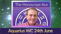Aquarius Weekly Astrology Horoscope 24th June 2019
