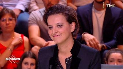 Najat Vallaud-Belkacem invitée de Quotidien #WorldRefugeesDay