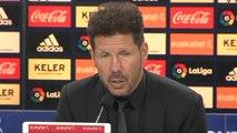 """Simeone avisa tras la derrota: """"Tenemos que tener atención en la Europa League"""""""