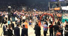 Anadolu Efes şampiyon oldu, Ergin Ataman oğlunu alıp gitti