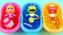 Learn Colors ORBEEZ Muppet Baby Bath Time Finger Family Song Surprise Eggs Nursery Rhymes For Kids