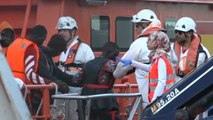 Trasladados a puerto los 109 inmigrantes rescatados en el mar de Alborán en las últimas horas