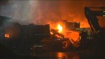 Los indígenas mapuches del sur de Chile queman doce camiones para reclamar sus tierras