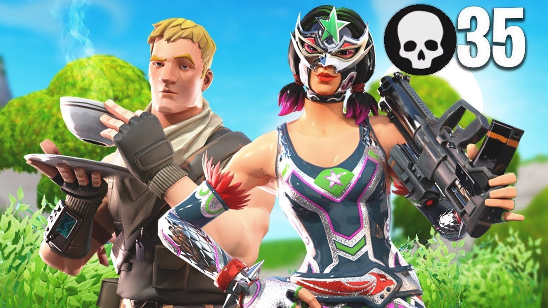 TFUE AND I POPPED OFF !!! 35 KILL ARENA WIN | Fortnite Battle Royale