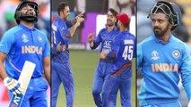 ICC Cricket World Cup 2019 : India vs Afghanistan : Rohit Sharma Wicket Down By Mujeeb Ur Rahman