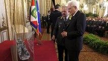 Roma - Mattarella incontra una rappresentanza del corpo della Guardia di Finanza (21.06.19)