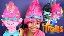 Trolls Face Paint - Poppy Makeup - Dreamworks Trolls Movie Toys