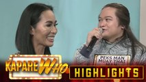 Apoy Isang Pinoy chooses Peks Man Muay Thai Man as her partner | It's Showtime KapareWho