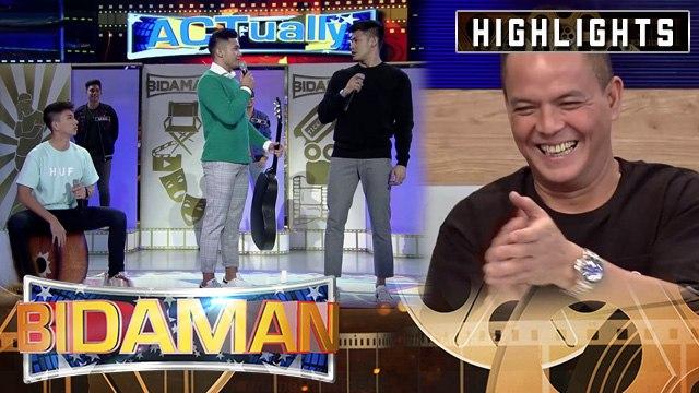 Direk Bobet is delighted of Nikko, Ion, and BidaMan Kyle acting performance | It's Showtime BidaMan