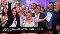 """Christophe Barbier rappe pour les 10 ans de """"C à vous"""", la vidéo malaise"""