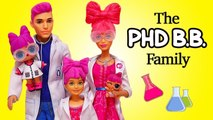 SWTAD LOL Families - The PHDBB Family and the Dinosaurs - Toys and Dolls Pretend Play for Kids