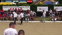 Supranational à pétanque d'Herblay juin 2019 : Après poules DIONISI vs TOUTAIN