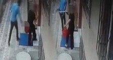 Temizlik yapan kadını taciz eden sapık bir anda neye uğradığını şaşır