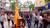Belfort : le défilé se poursuit au niveau du Boulevard Carnot