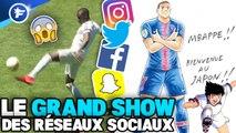 Les jongles ratés de Ferland Mendy au Real, Mbappé en mode Olive et Tom, Karim  Benzema avec Neymar : le Grand Show des  Réseaux Sociaux